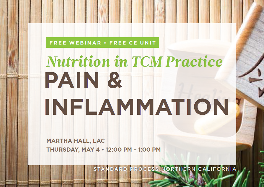 Acupuncture Halls - Pain and Inflammation Webinar (May 04)