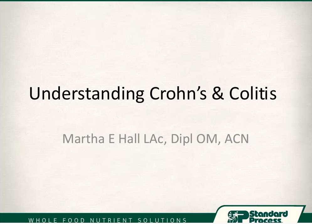 Colitis and Crohns Disease Management